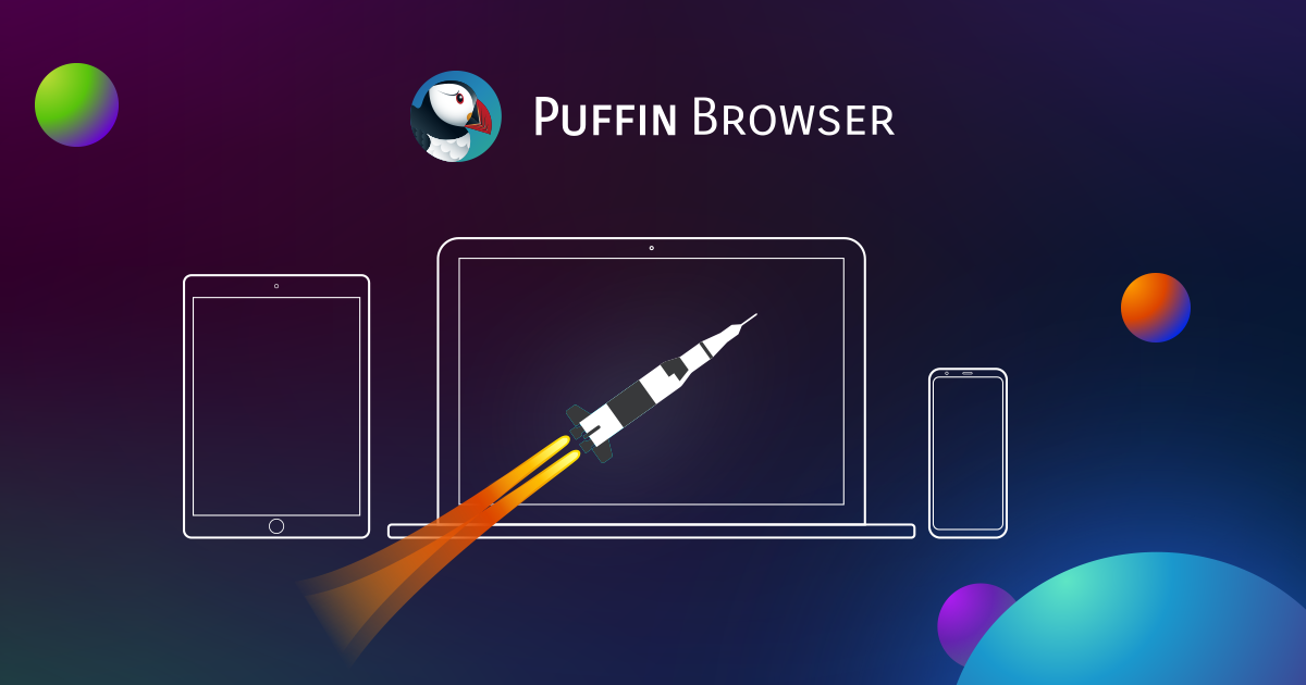 Puffin Browser - It's Wicked Fast!